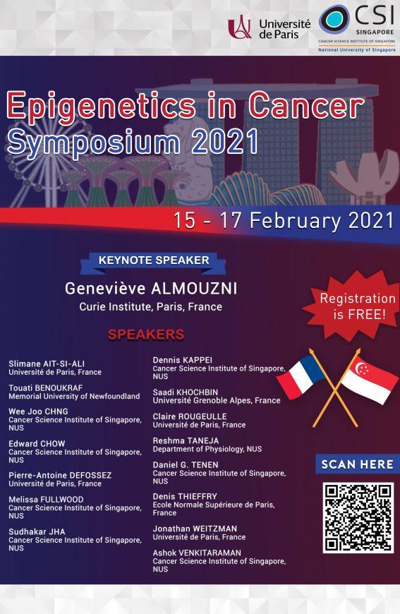Epigenetics In Cancer Symposium Poster 2021