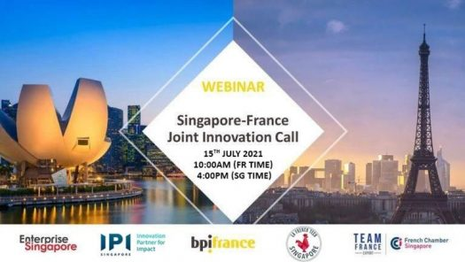 Singapore France Joint Innovation Call Fccs